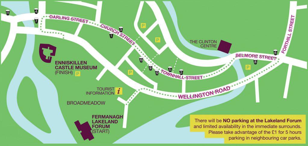 Project St Patrick Enniskillen Parade Route 2016